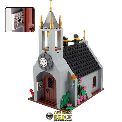 Lego Custom Instruction Super cathedral