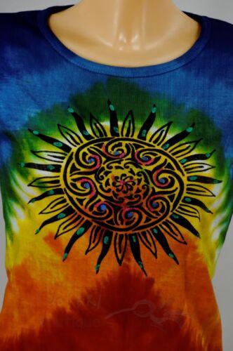 * bäres Hippie shirt Népal Goa chemise batik soleil Népal