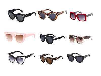 Cat Eye Sunglasses Kitti Large Fashion Women Oversized Big Frame Lens Clear 2018