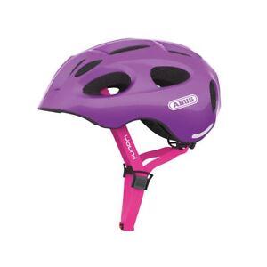 Cherry Casco Da 57cm Abus Visiera Rosso Youn 52 Ace Amovibile Bicicletta Medio i RHHr1wqYnd