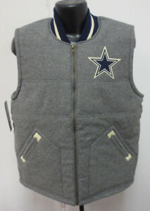new product 868a2 1409a Details about DALLAS COWBOYS MITCHELL & NESS NFL VEST MENS STITCH NFL NEW  MARGIN OF VICTORY