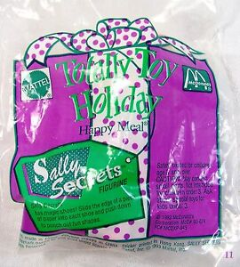 1993 Mcdonalds Happy Meal Totally Toy Holiday Sally Secrets