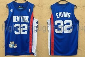 85ce4402fbb NWT Julius Erving 32 NBA New York Nets Swingman Jersey Throwback ...