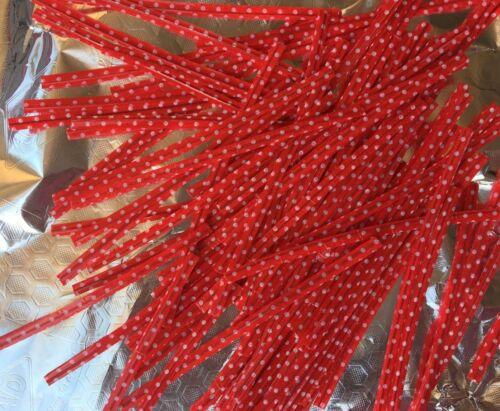 50 cable clips cierre para bolsa bolsas dekodraht weihnachtsbäckerei galletas