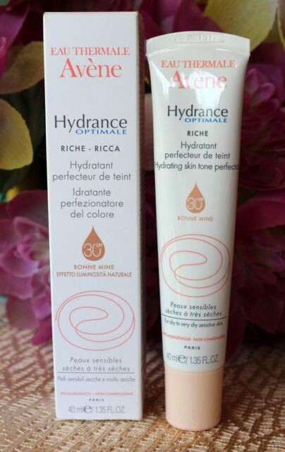 Avene Hydrance Optimale Skin Tone Perfector rich .SPF30- 40ml.