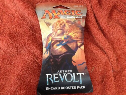 NIP MAGIC THE GATHERING AETHER REVOLT 15 CARD BOOSTER PACK