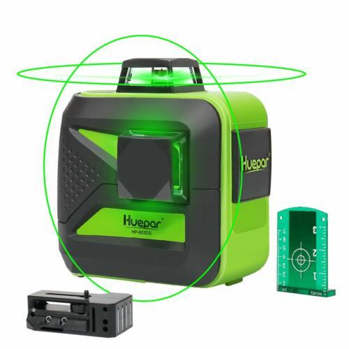 Huepar Laser 602CG Baulaser 2*360 2D 8 Linien mit Li-Akku 2019 Neu!!