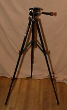 Coastar Red Accent CD-66 Aluminum Tripod w/ Head