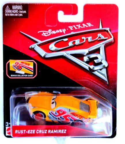 RUST-EZE CRUZ RAMIREZ Mattel Disney Pixar CARS 3