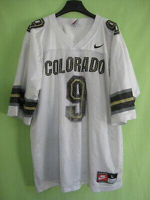 Maillot Colorado Buffaloes Football Americain #9 Nike 90'S jersey Vintage L   eBay