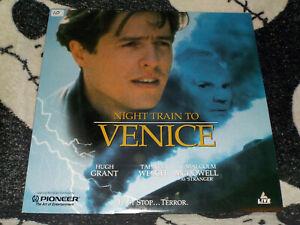 Notte-Treno-a-Venezia-Laserdisc-Ld-Hugh-Grant-Gioco-Malcom-Mcdowell