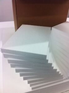 Styrofoam Sheets 32 Pcs 12 X8 X1 Arts Crafts Hobby Diy