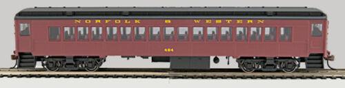 Coach #484 HO P-54 Norfolk /& Western 0001-094035-A Tuscan w//bk roof