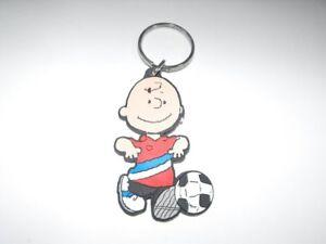 Charlie-Brown-Peanuts-Flat-Plastic-Key-Chain-Keychain