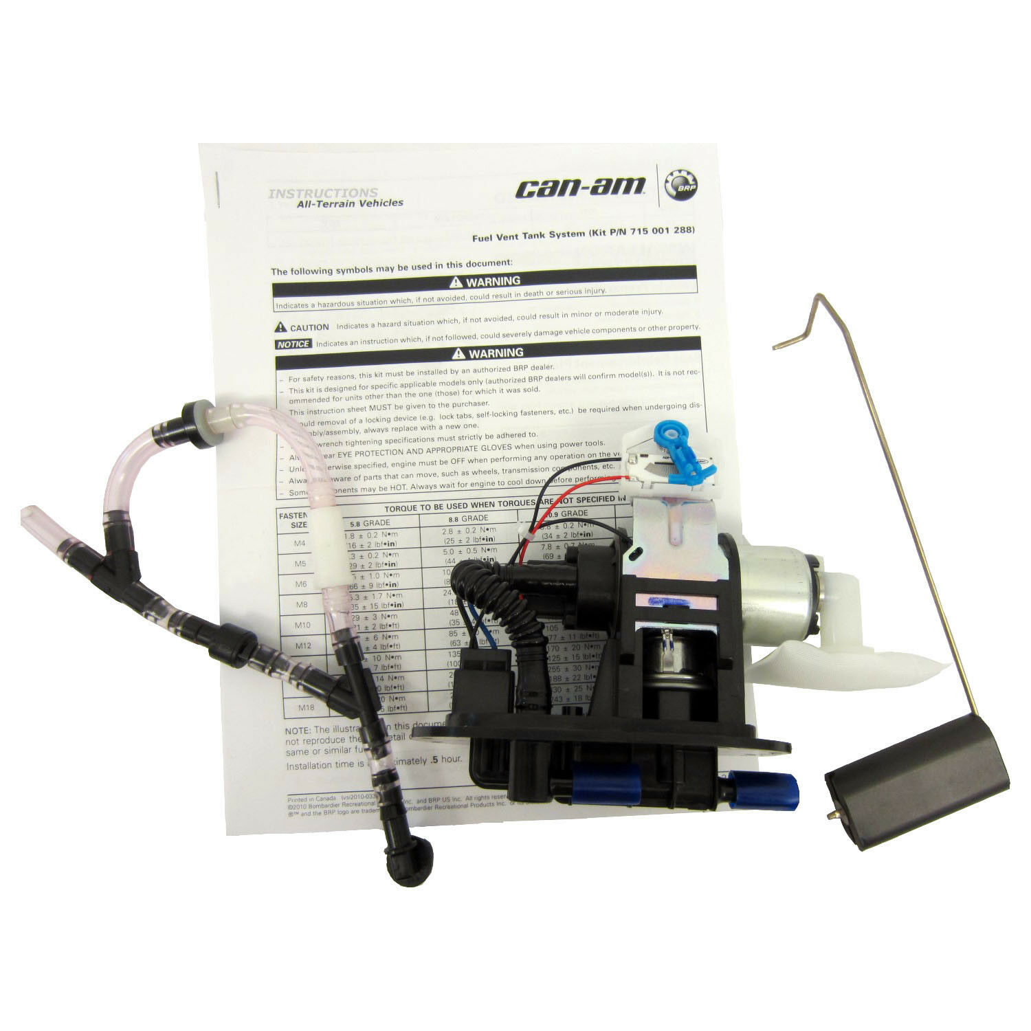 Can-Am New OEM Outlander Renegade ATV Fuel Pump Kit 703500771 400 500 650 800