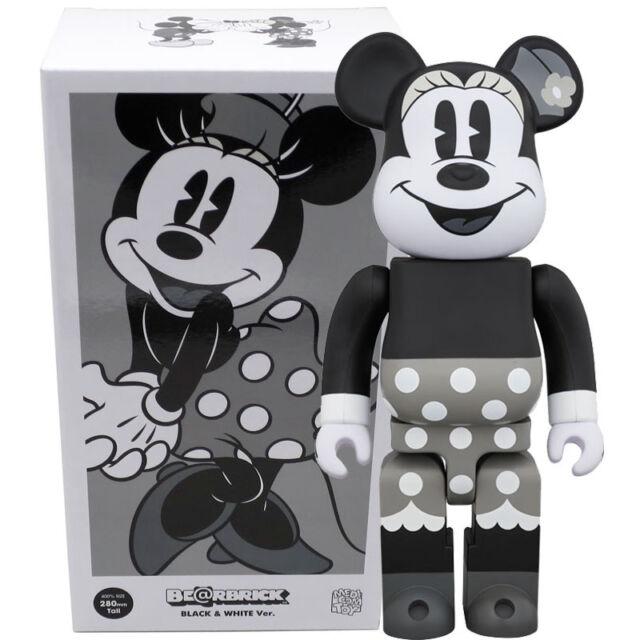 2d9d1f65 Medicom Be@rbrick Bearbrick Disney Minnie Mouse (B&W Ver.) 400% Figure