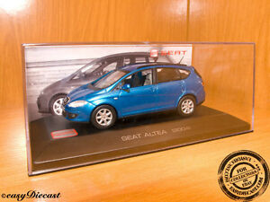 Seat Altea Metallic Blue 1:43 2004 Neuf!   Avec box-art