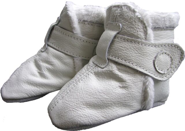 0-6m soft sole leather baby shoes