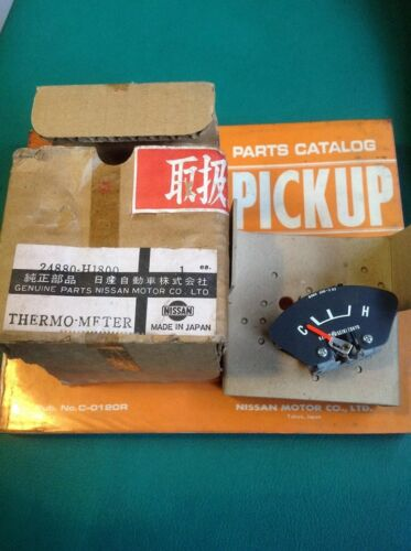 DATSUN 1200 B110 B120 GAUGE TEMPERATURE THERMO-METER Genuine NOS JAPAN