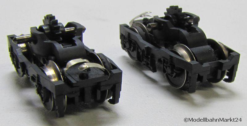 Fleischmann 67355 DB br 101 027-1 twindecoder pieza de repuesto frase bogie Spurn