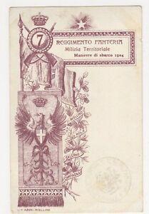 Italy-Reggimento-Fanteria-Milizia-Territoriale-Postcard-B127