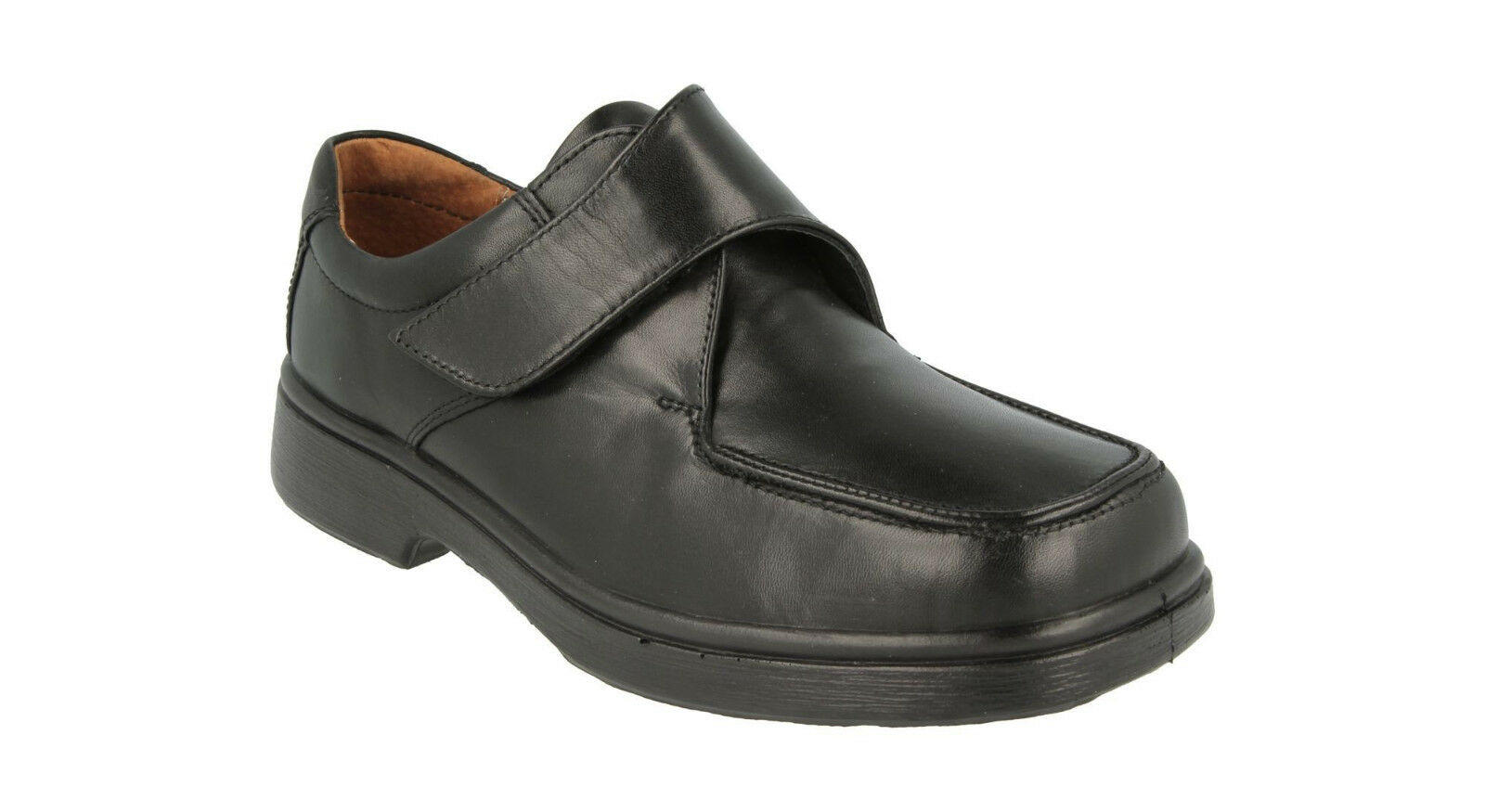 Men's DB shoes Ryan 4E Extra Wide Velcro shoes for Orthotics