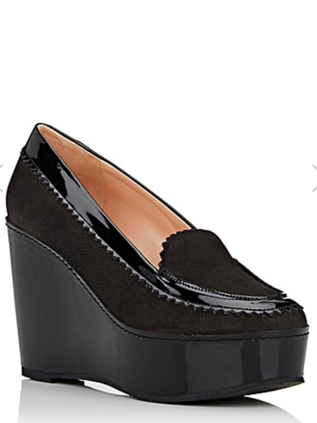 ROBERT CLERGERIE Ursuled Platform Wedge Loafers Price 750. Sell 299.99