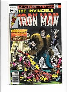 Iron-Man-101-August-1977-introduction-of-The-Dreadknight-Frankenstein-Monster