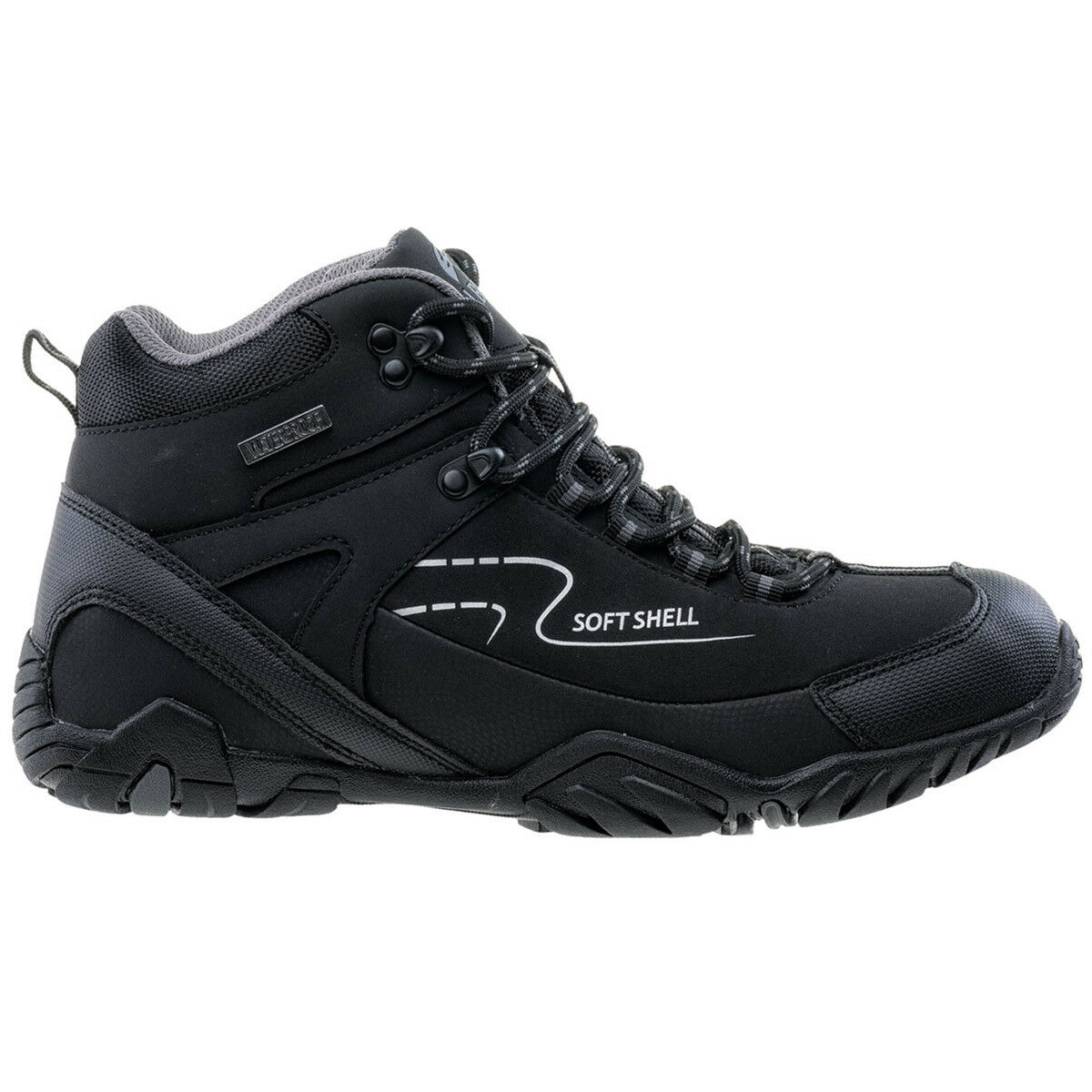 Elbrus Baash Mid WP Softshell Herren Schuhe Schuhe Schuhe Wanderschuhe Trekking Outdoor NEU 109619