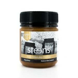 BUY-DIRECT-Steens-Certified-UMF22-MGO971-Raw-Manuka-Honey-8-8-oz-jar-from-NZ
