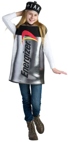 Kids Energizer Battery Costume By Dress up America