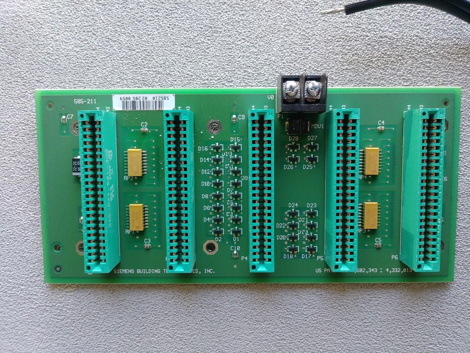 SIEMENS 585-211 PCB control board