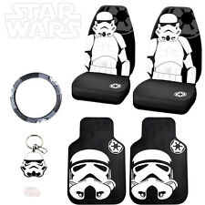 STAR WARS STORMTROOPER 6PC CAR SEAT COVERS MATS AND ACCESORIES SET FOR HONDA