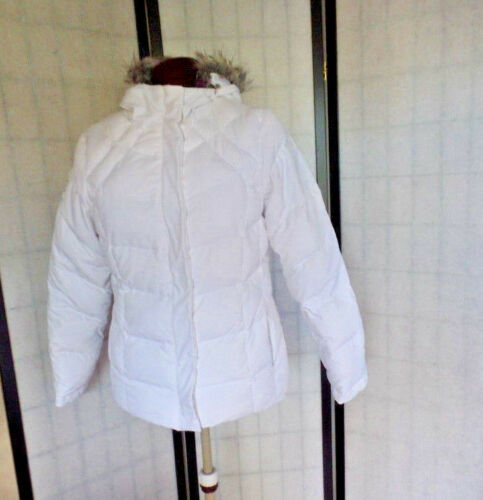 FREE COUNTRY REVERSIBLE DOWN FILLED JACKET WHITE A