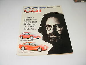 CAR       MAGAZINE       FROM  APRIL  1987    ENGLISH MONTHLY