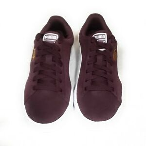 Image is loading Puma-Suede-Classic-Winetasting-Burgundy-Sneakers-Women-039- 94e476304