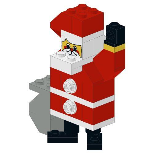 LEGO ® - Holiday/Christmas-p01-Babbo Natale