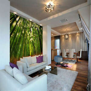 Details About Bamboo Forest Trail 3d Full Wall Mural Photo Wallpaper Printing Home Kids Decor