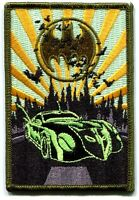 BATMAN batmobile EMBROIDERED IRON-ON PATCH **FREE SHIP** c pdc80 dc comics joker
