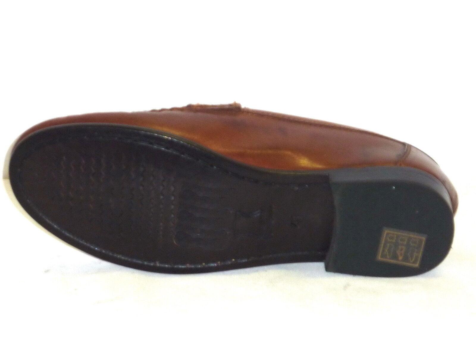 MOCASSINO Zapatos Zapatos hombre ELEGANTI PELLE PELLE PELLE MARRONE n.42 37acca