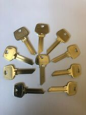 Jet Key Blank 6 Pin 6270lh Lot Of 10 Sargent Silver Line Made In Usa