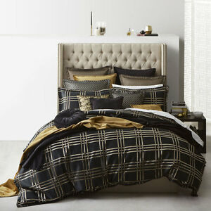 Davinci-Triton-Bronze-Doona-Quilt-Cover-Set-Queen-King-Super-King-Sizes-NEW