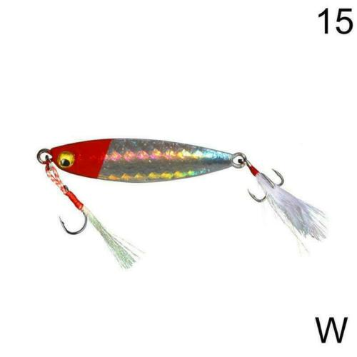 1pcs Fishing Lure Jigs Baits Hooks Fishing Accessories S9G9