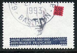 STAMP-TIMBRE-FRANCE-OBLITERE-N-2803-CELEBRITE-ANDRE-CHAMSON
