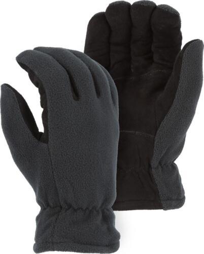 OnZERO COLD PROOF-0-Degree HI-TECH HEATLOK INSULATED WINTER GLOVES-DEERSKIN Palm