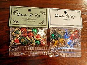 jack frost Scrapbooking Christmas Dress it up Buttons craft card making
