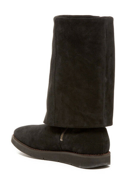JOHNSTON AND AND AND MURPHY Women's SUEDE Folddown Cuff Winter Boots Size 8.5 SALE f36793