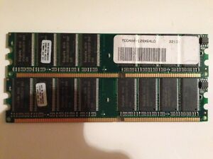 MEMORIE-RAM-2-x-1-GB-2-GB-DDR-HYNIX-PC3200-400-MHz-184-PIN-DESKTOP