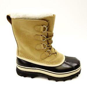 Sorel Damenschuhe Braun Suede Suede Braun Waterproof 15 Caribou Snow Duck Stiefel Größe 5f8f6c