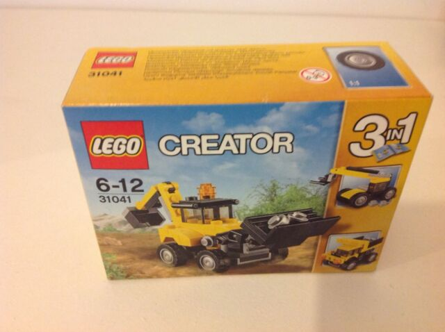 LEGO Creator Construction Vehicles (31041) 3 in 1 Digger.